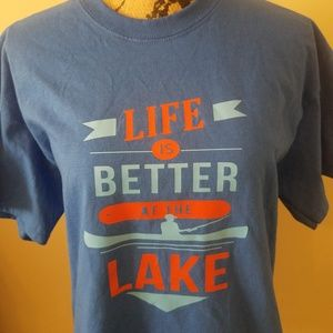 Life is Better on the Lake T-Shirt, Adult